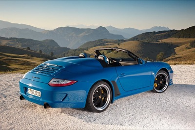 911 Speedster: Baby Got Back