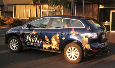 Mazda takes to the road with Anika Moa