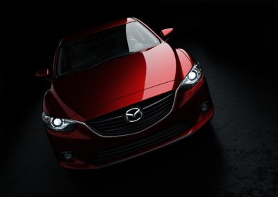Mazda releases pic of front of car (and one of the back…)