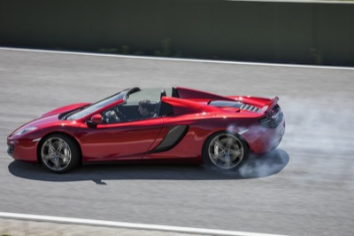 McLaren lops the top off