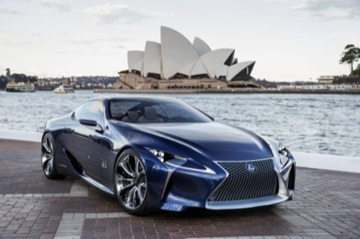 """Lexus LF-LC """"could"""" go into production"""