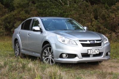 QUICK DRIVE: Subaru Legacy X