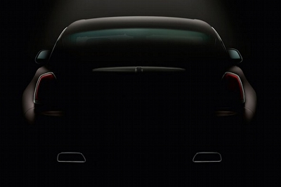 Rolls-Royce reveals new Wraith pic. And a hint of humour.