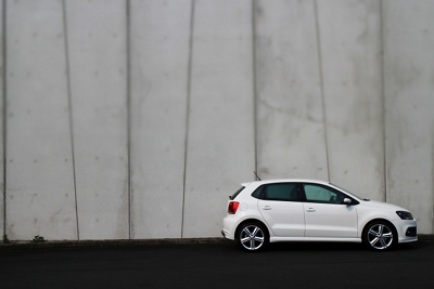 VW Polo wall