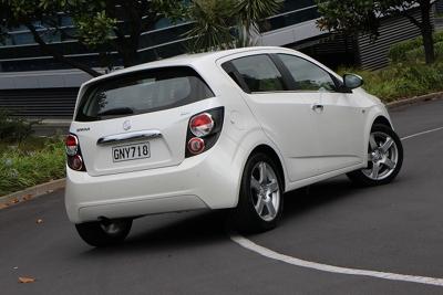 Holden Barina rear