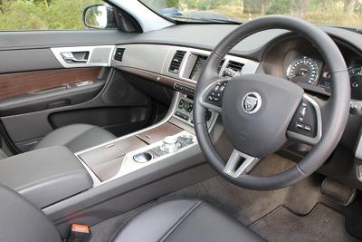 Jag XF interior