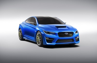 Subaru shows WRX concept, tells us nothing about it…