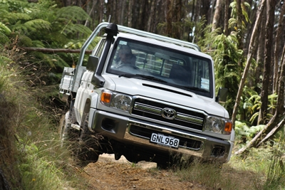 QUICK DRIVE: Toyota Land Cruiser 70 Series LX double cab