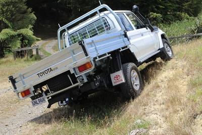 LC70 rear