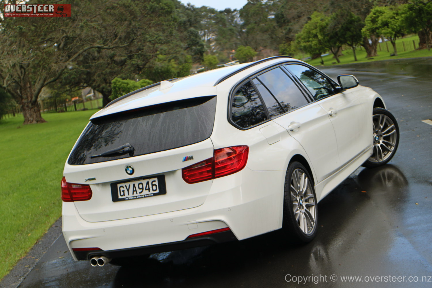 ROAD TEST BMW D Touring XDrive OVERSTEER - 330d bmw