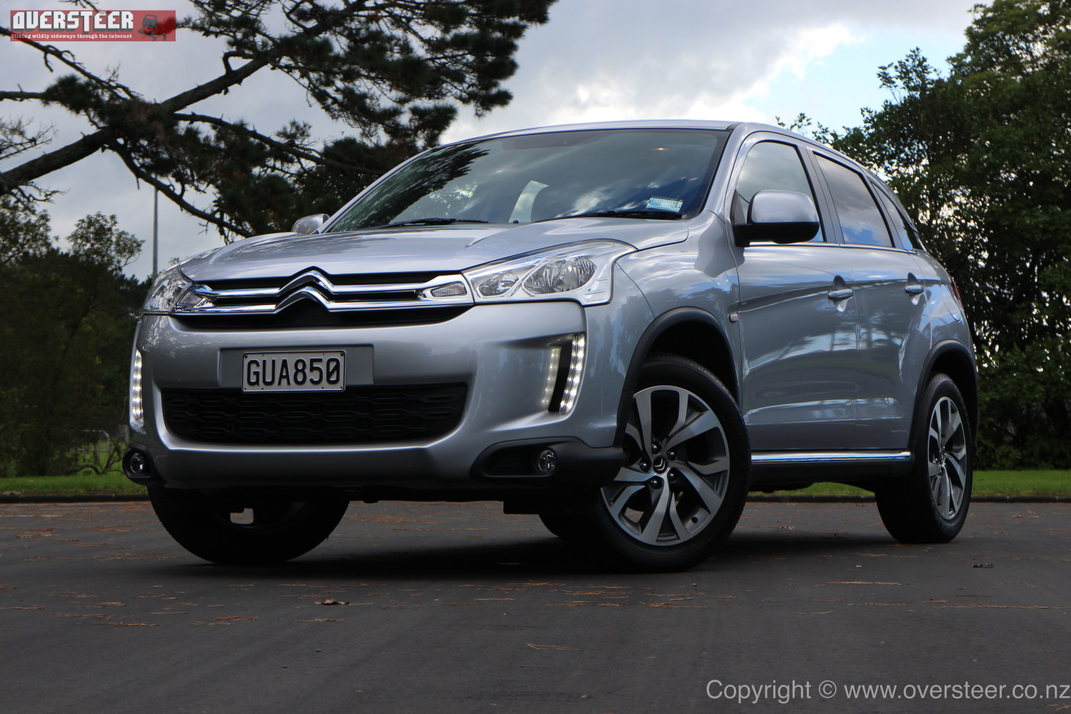 road test citroen c4 aircross exclusive oversteer