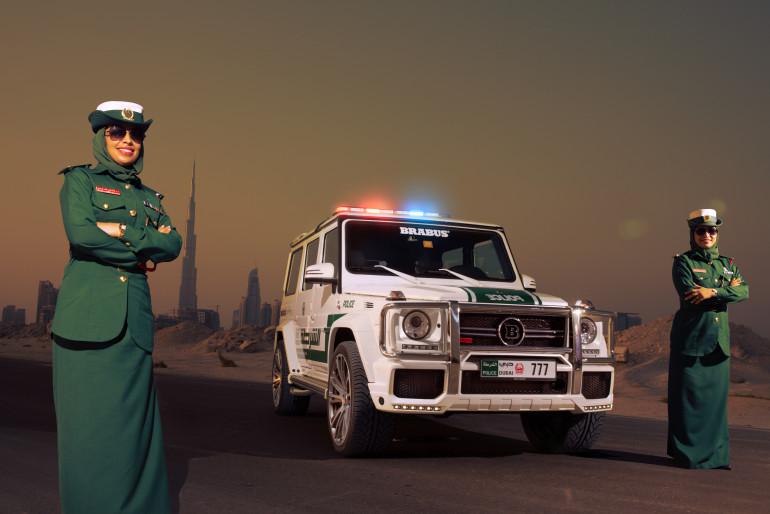 More Police awesomeness from Dubai