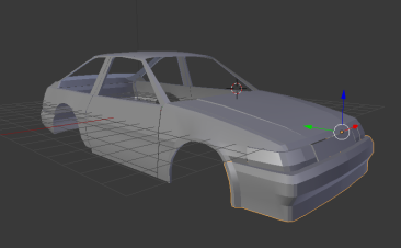 Oversteer game progress!