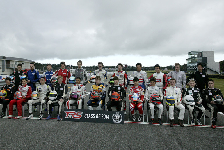 TRS. Class of 2014. IMAGE/terry marshall
