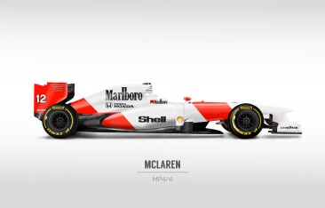 Classic F1 liveries on modern cars