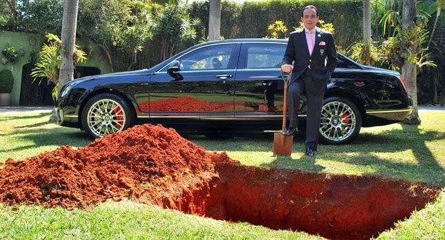 Burying the Bentley