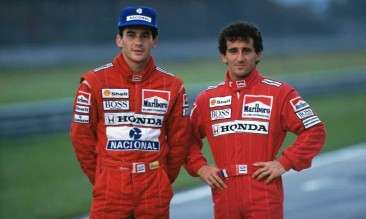 Prost remembers Senna