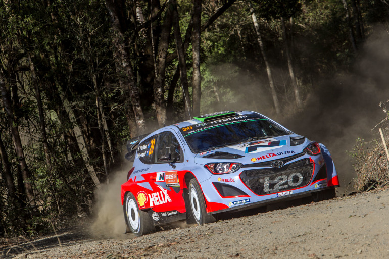 PRESS RELEASE: Paddon all set for Rally Australia