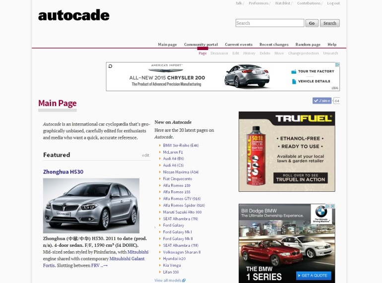 PRESS RELEASE: Car cyclopædia Autocade hits five million page views