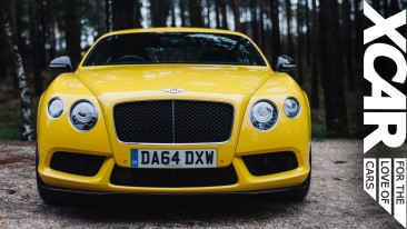 "XCAR drive the ""best Bentley yet"""