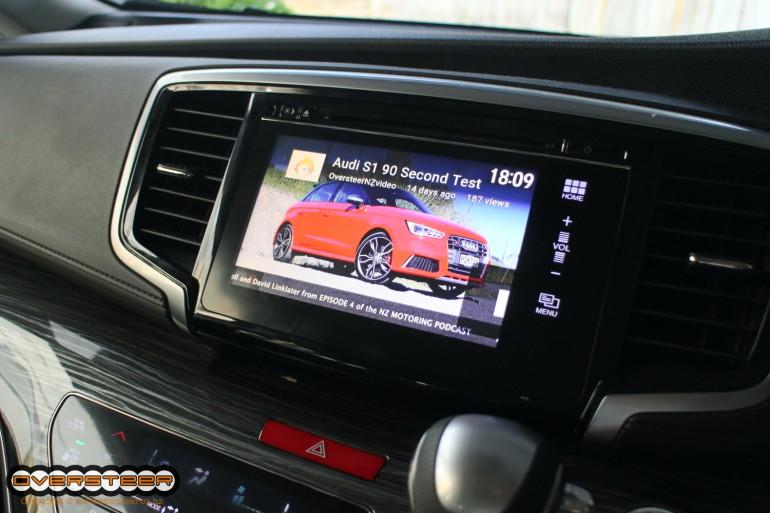 Streaming video to a Honda Odyssey!