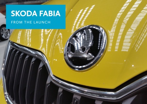 FROM THE LAUNCH: Skoda Fabia