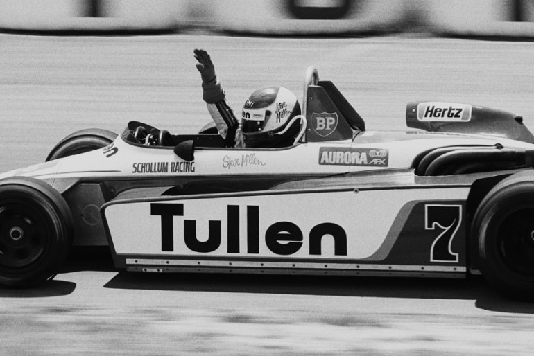 Bay Park 1982. Steve Millen in his Tullen Ralt RT4. IMAGE/terry marshall