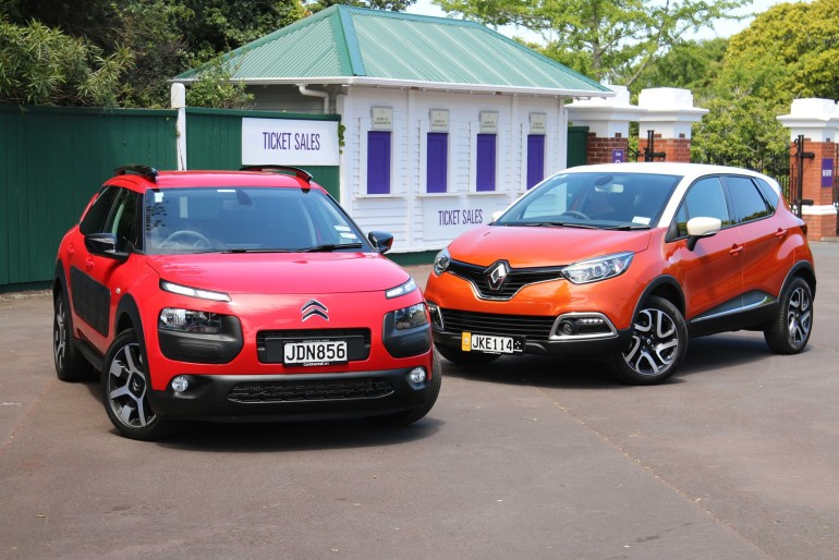 ROAD TEST: Citroen C4 Cactus vs Renault Captur