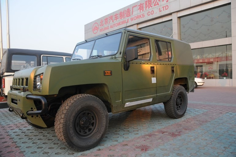 The Good Oil: Chinese Hummer Jeep