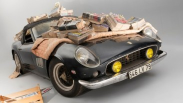 The five most expensive cars sold at auction last year