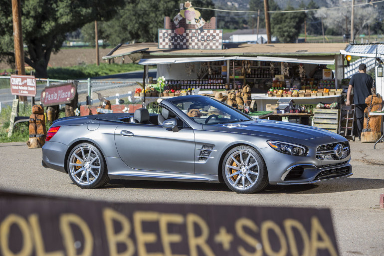 FIRST DRIVE: Mercedes-Benz SL