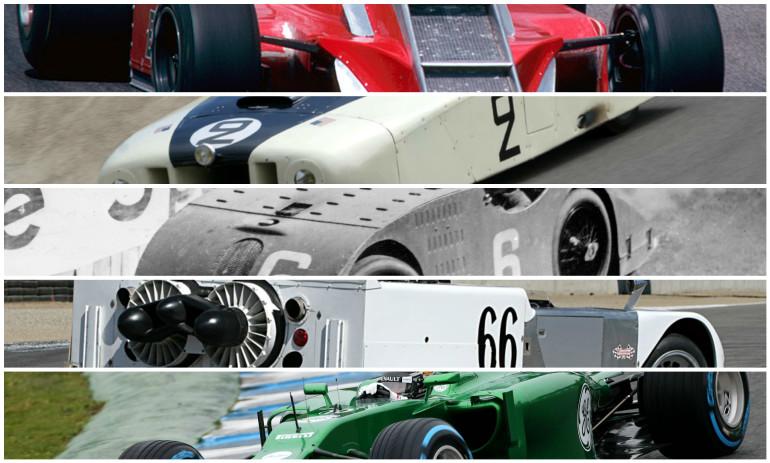 The five ugliest racing cars