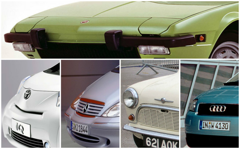 Five small cars that innovated. Then stopped there.