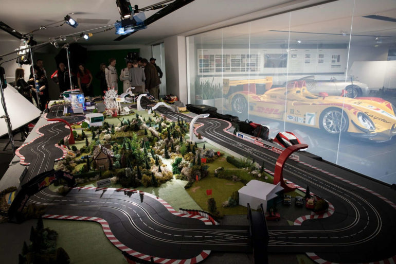 Mark Webber's slot car guide to Le Mans!