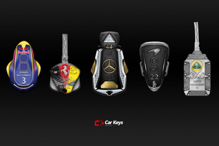 If F1 cars had keys