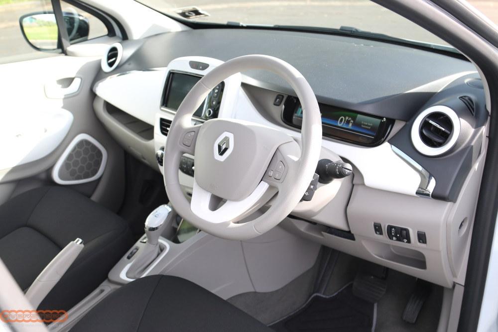 Renault Zoe and Kangoo EV 002