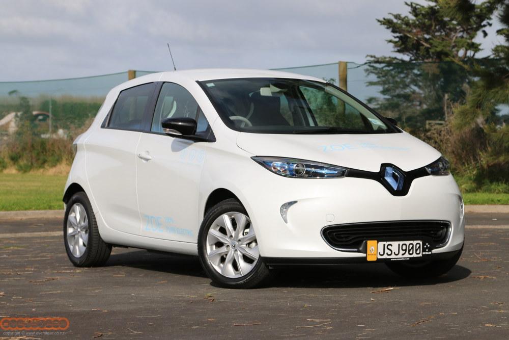 Renault Zoe and Kangoo EV 005