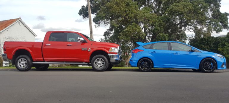 What we are driving this week: Ram 2500 and Ford Focus RS