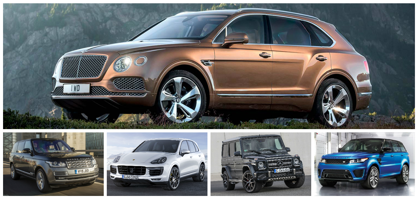 The Five Most Powerful And Expensive Suvs You Can Buy In
