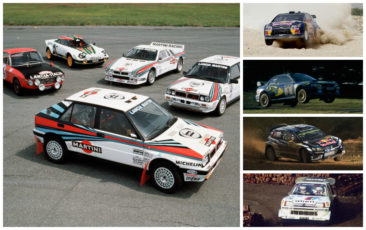 Five most successful rally manufacturers