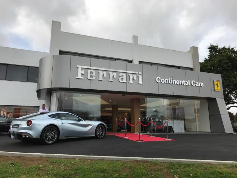 New Ferrari showroom for Auckland