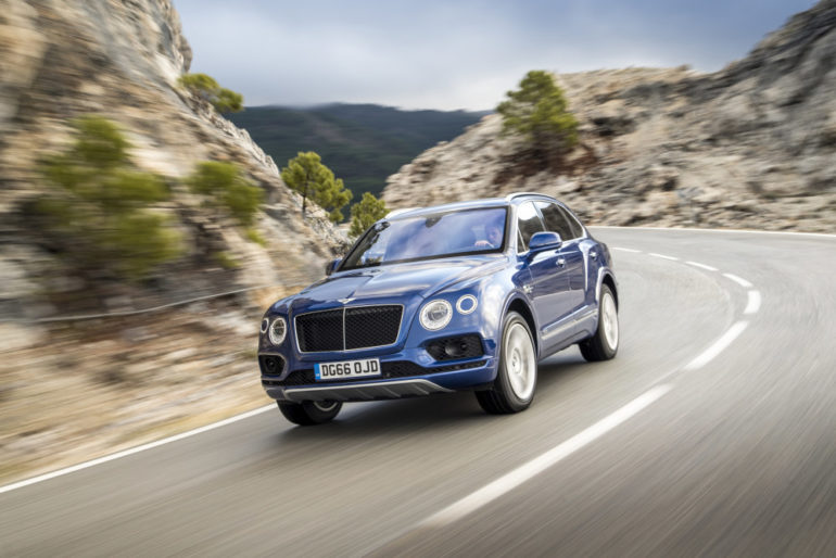 FIRST DRIVE: Bentley Bentayga diesel