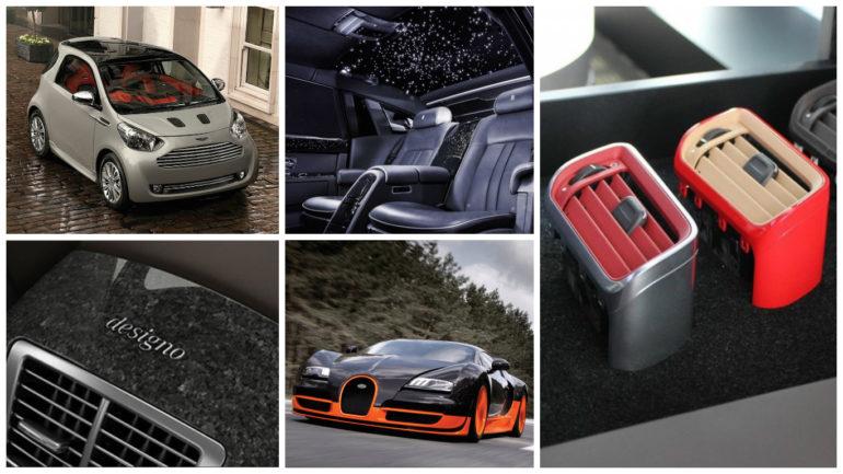 Five silliest luxury car options