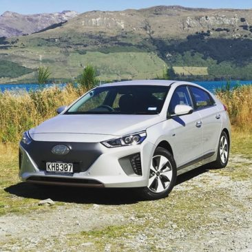 Driving an EV in the middle of nowhere? That's how Hyundai are launching the new Ioniq!
