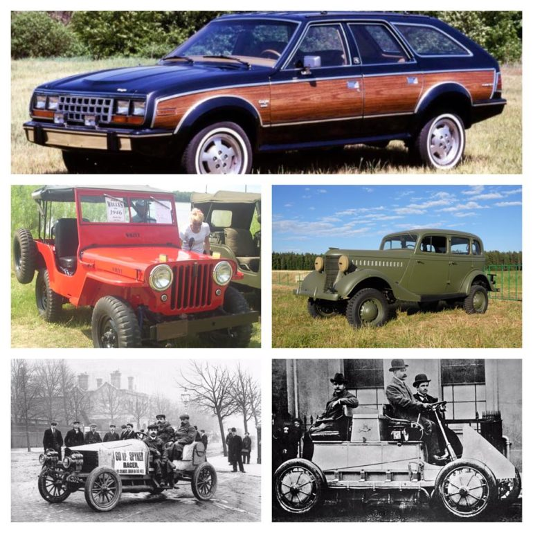 Five 4WD Firsts