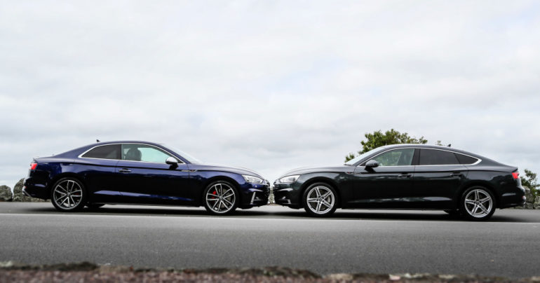FIRST DRIVE: Audi A5 and S5