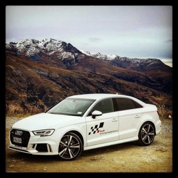 We are at the launch of the new 294kW Audi RS3 sedan in Queenstown. #Audi #RS
