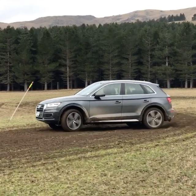 Think an Audi Q5 can't drift? Think again…
