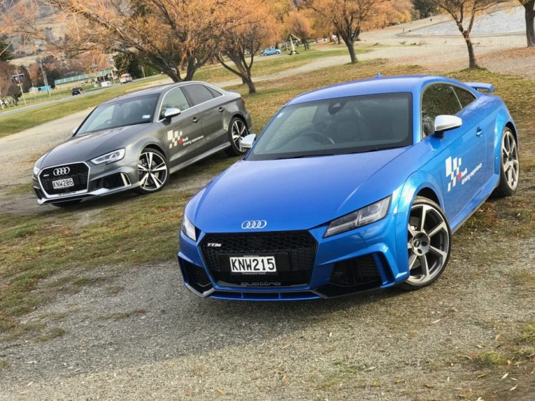 FIRST DRIVE: Audi RS3 sedan and TTRS