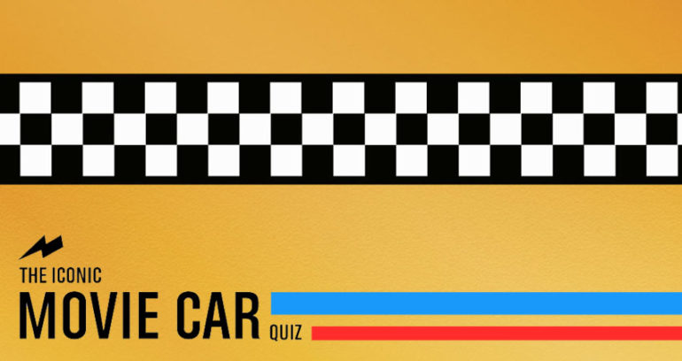 The Iconic Movie Car Quiz!